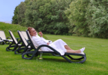 Aktiv & Vital Hotel Thüringen in Schmalkalden im Thüringer Wald Garten