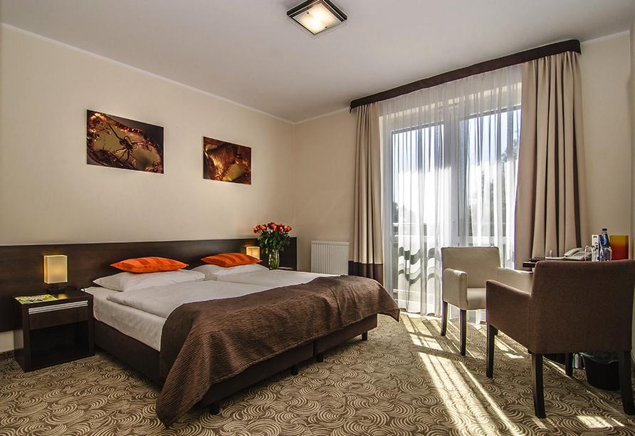 Hotel Emocja Uniescie Polnische Ostsee, Beispiel Doppelzimmer