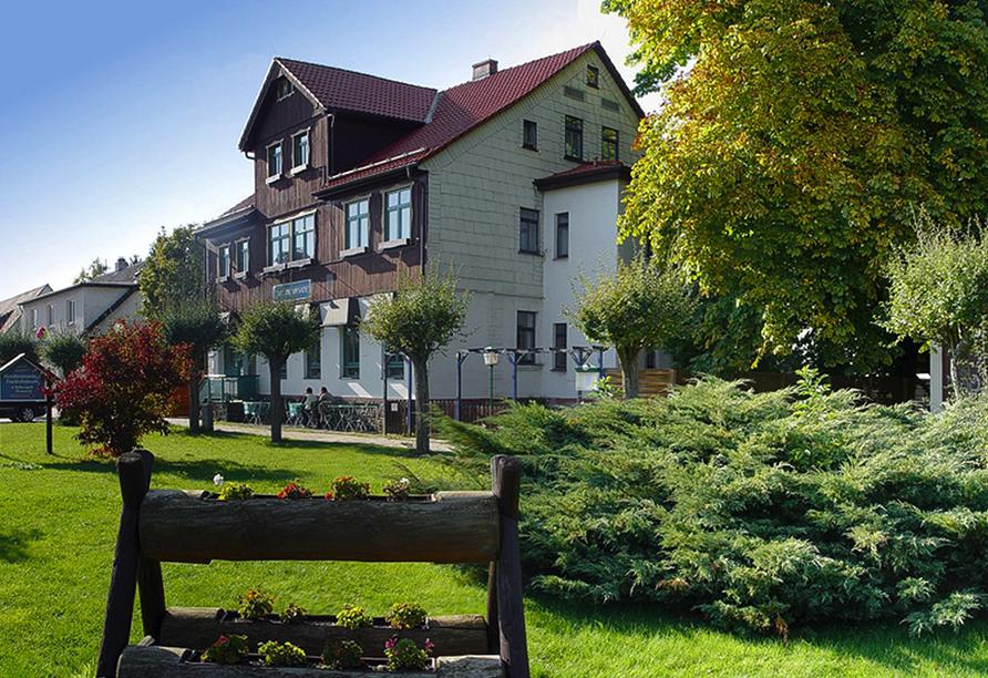 Hotelferienanlage Friedrichsbrunn, Aussenansicht