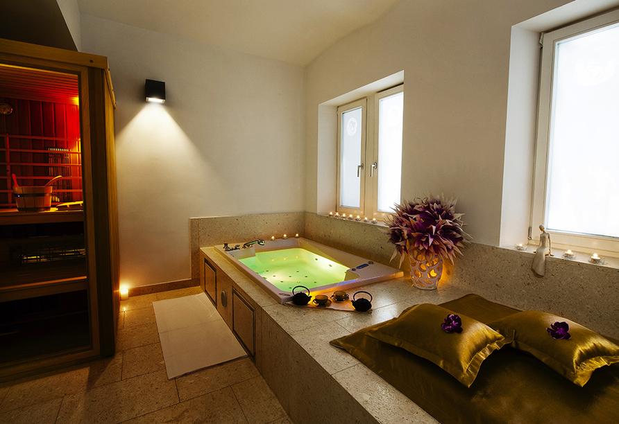 Hotelkomplex Rimske Terme in Rimske Toplice, Wellnessbereich