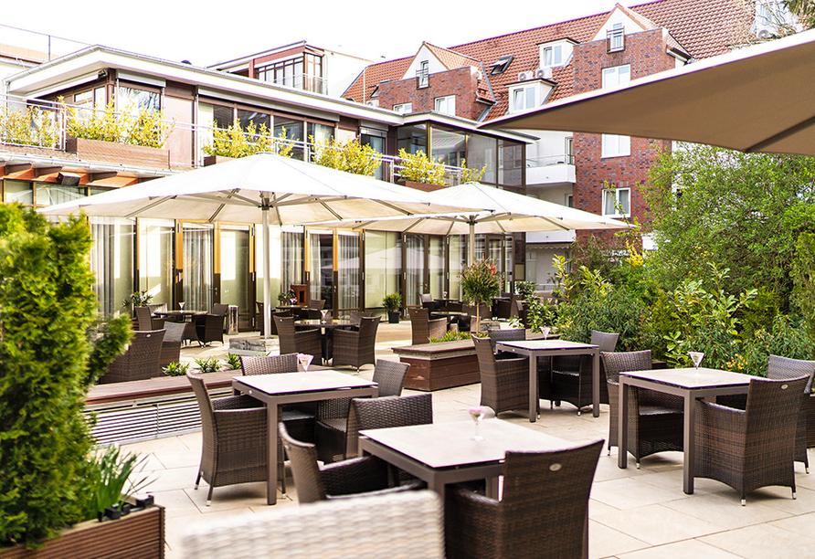 Hotel Hanseatischer Hof, Terrasse