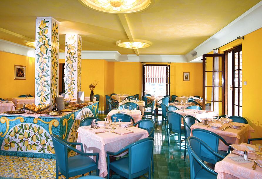 Hotel Panorama in Costermano, Restaurant