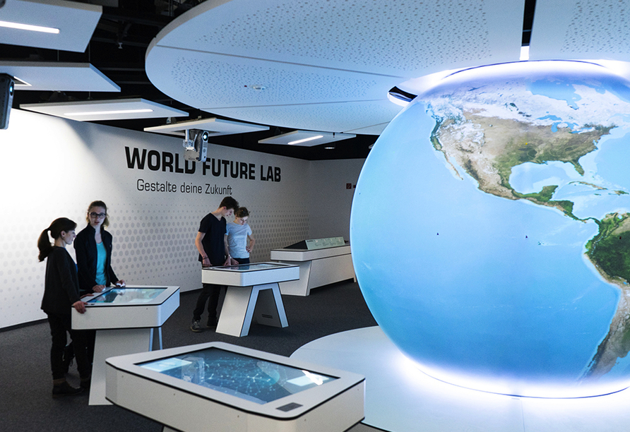 Nordsee Hotel Bremerhaven-Fischereihafen, Klimahaus World Future Lab
