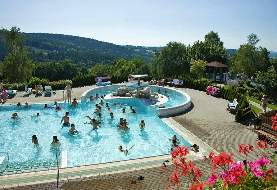 Hotel Gottinger in Waldkirchen, Bayerischer Wald, Karoli Badepark