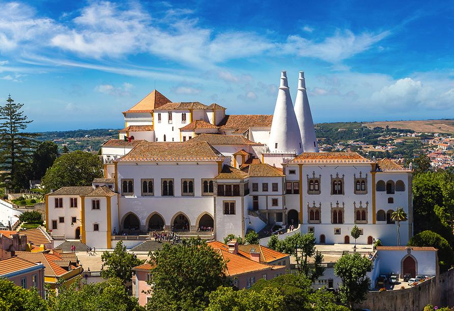 MS Magellan, Palácio Nacional de Sintra