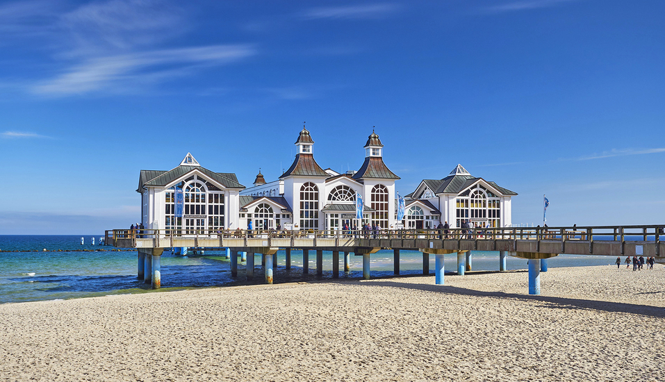 Soibelmanns Hotel Rügen, Selliner Seebrücke