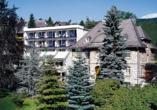 Rüters Parkhotel in Willingen, Außenansicht