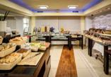 Das Frühstücksbuffet in Ihrem Beispielhotel Best Western Hotel Portos
