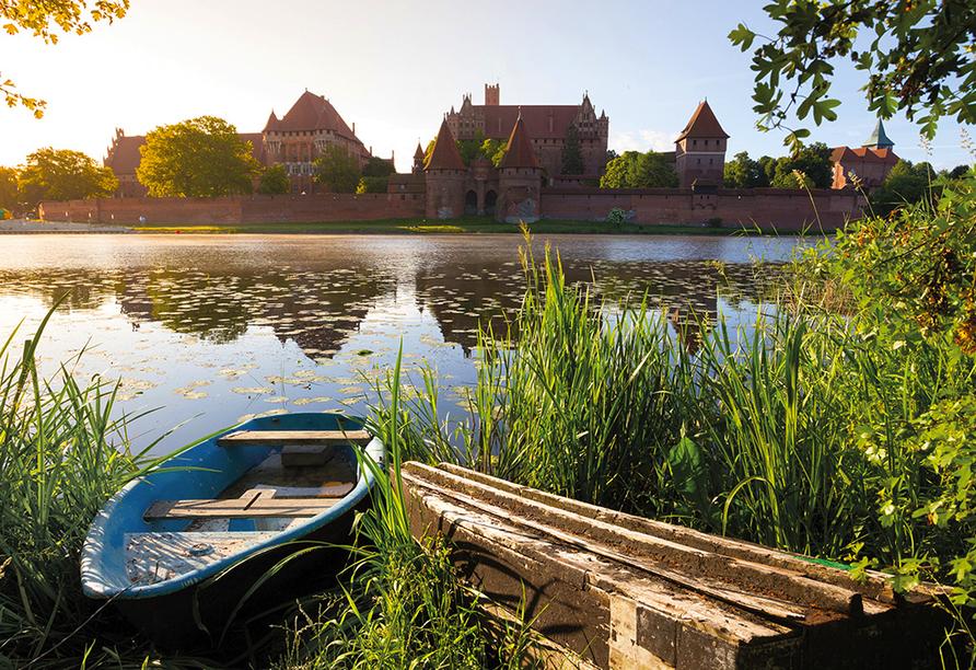 Die Marienburg ist ein sehr bedeutendes UNESCO-Weltkulturerbe.