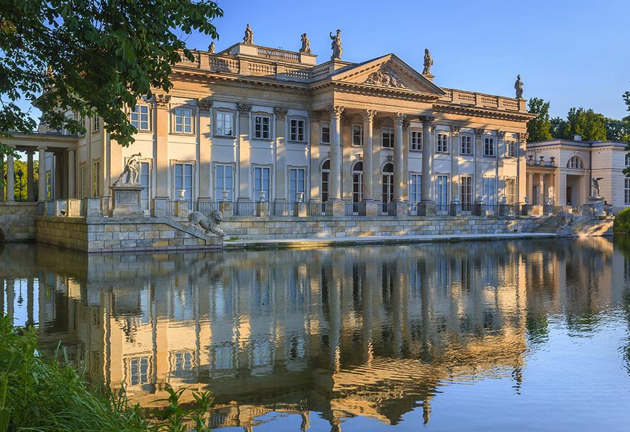 """Der königliche Lazienki-Park gilt als """"glücklichster Ort der Stadt""""."""