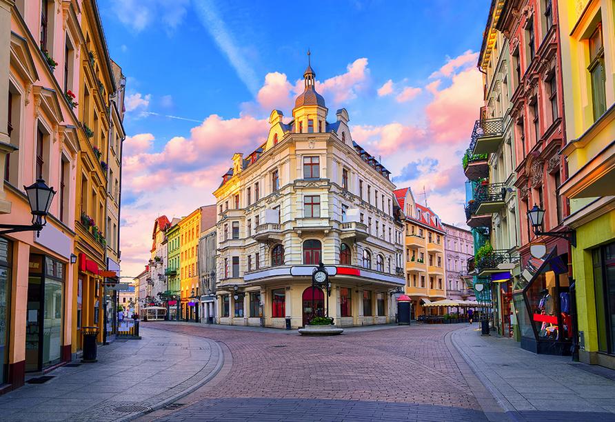 Im Jahr 1473 wurde Nikolaus Kopernikus in der Stadt Thorn geboren.