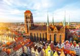 Die Marienkirche ist die Hauptpfarrkiche in Danzig.