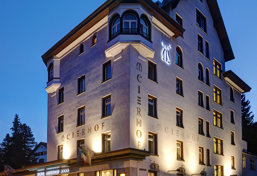 Hotel Meierhof Davos, Schweiz, Außenansicht
