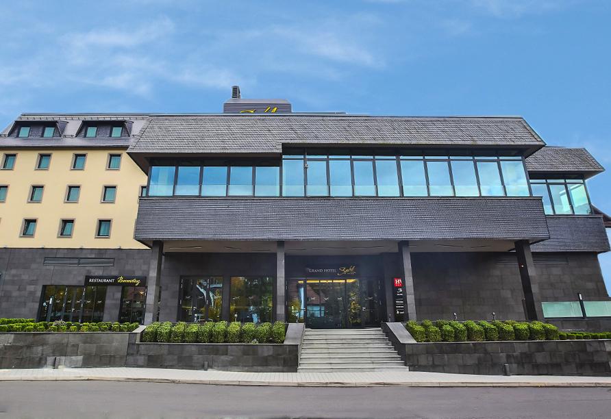 Grand Hotel Suhl, Außenansicht