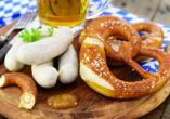 das seidl Hotel & Tagung in Puchheim bei München, Brezen und Weißwurst