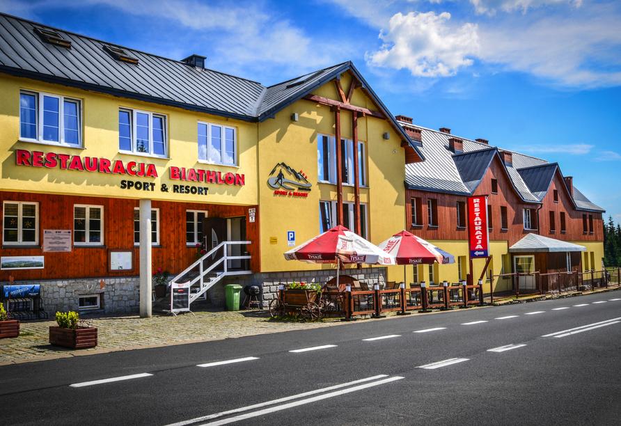 Hotel Biathlon Sport & Resort, Außenansicht