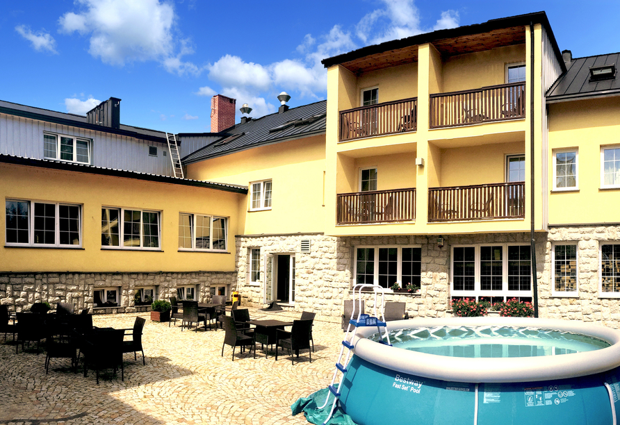 Hotel Biathlon Sport & Resort, Terrasse
