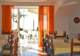 Restaurant im Hotel Al Bosco Terme in Panza.