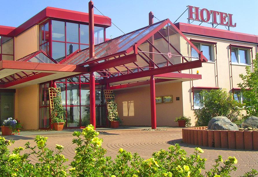 Airport Hotel Erfurt, Außenansicht