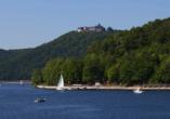 Hotel Zur Igelstadt in Lichtenfels-Fürstenberg im Hessischen Bergland See