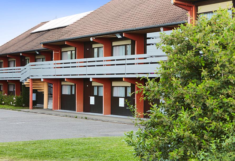 Hotel Campanile Colmar Parc des Expositions im Elsass, Außenansicht