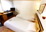 Hotel Campanile Colmar Parc des Expositions im Elsass, Zimmerbeispiel