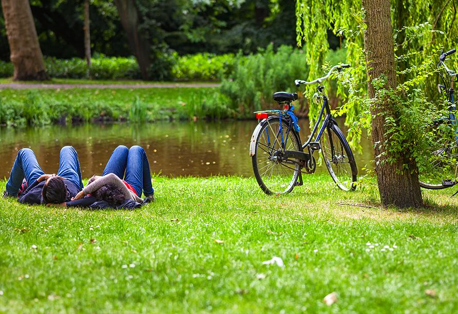Sterntour rund um Purmerend, Amsterdam Vondelpark