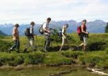 Sport & Vitalhotel Seppl in St. Leonhard im Pitztal Tirol, Wandern