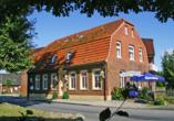 Hotel Zur Linde in Heede Außenansicht