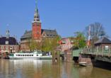 Hotel Zur Linde in Heede Ausflugsziel Hafen in Leer