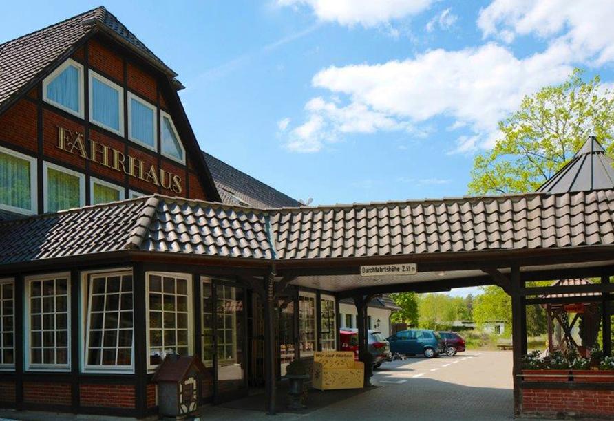 Ringhotel Fährhaus in Bad Bevensen, Außenansicht