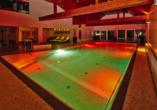 Kormoran Wellness Medical Spa, Rowe, Polnische Ostsee, Polen, Hallenbad