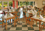 Kormoran Wellness Medical Spa, Rowe, Polnische Ostsee, Polen, Restaurant