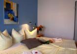 Hotel Rügenblick, Beispiel Doppelzimmer