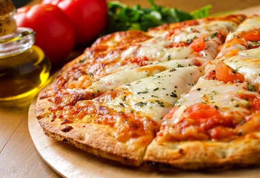 Park Hotel Oasi Garda Gardasee Italien, Pizza