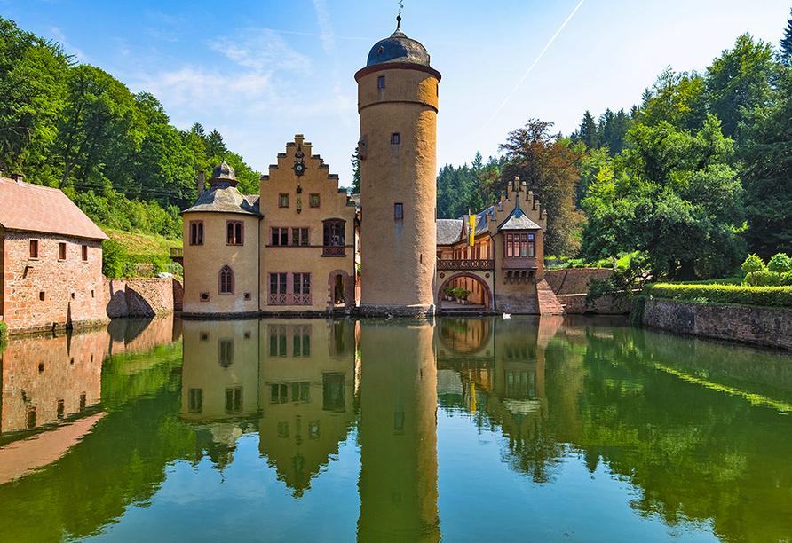Hotel Christel in Heimbuchenthal, Wasserschloss Mespelbrunn