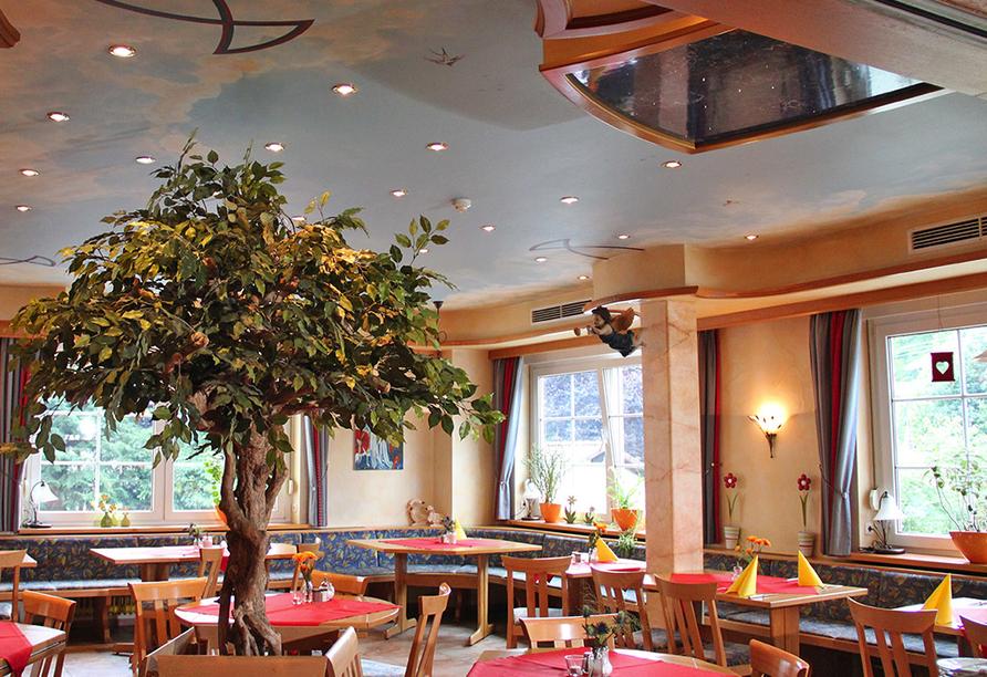 Hotel Christel in Heimbuchenthal, Restaurant