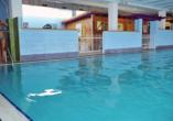 Park Hotel Jolanda in San Zeno di Montagna am Gardasee, Hallenbad