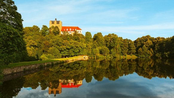 Hotel auf der Hohe in Ballenstedt im Harz, Schloss Ballenstedt