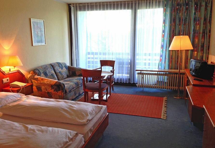 Beispiel eines Doppelzimmers im CAREA sunotel Kreuzeck