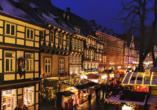CAREA sunotel Kreuzeck in Goslar-Hahnenklee, Weihnachtsmarkt