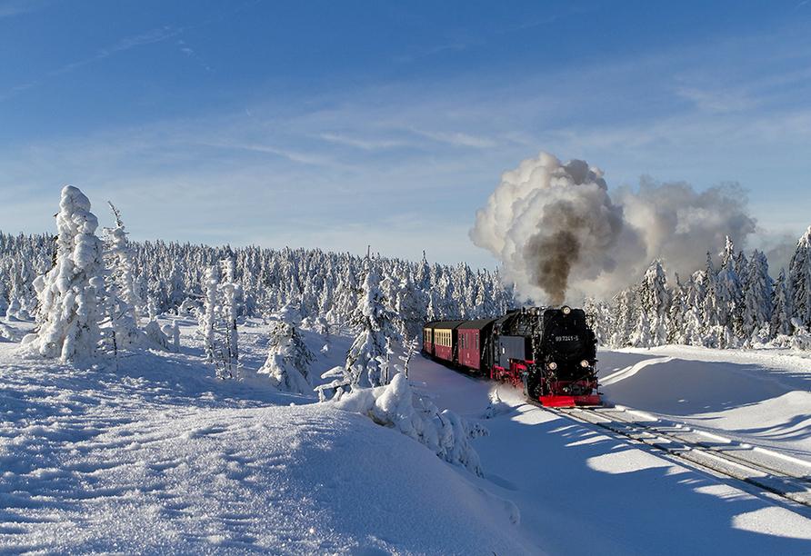 CAREA sunotel Kreuzeck in Goslar-Hahnenklee im Harz, Brockenbahn