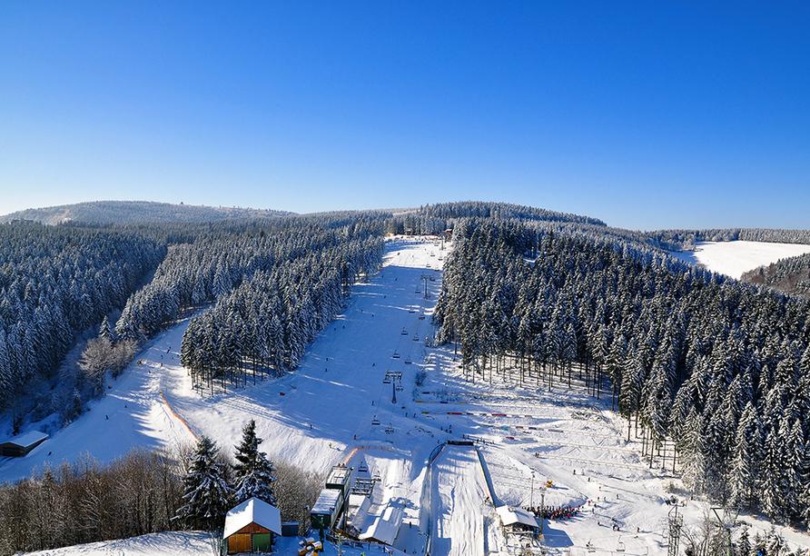 Hotel Altastenberg in Winterberg, Skigebiet