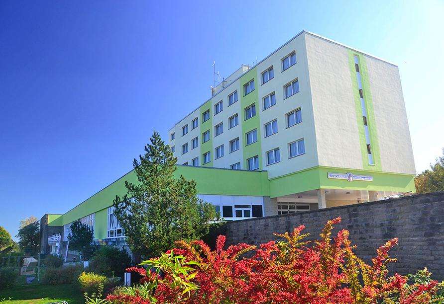 Ferien Hotel Rennsteigblick in Friedrichroda, Außenansicht