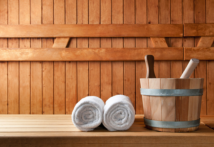 Ferien Hotel Rennsteigblick in Friedrichroda, Sauna
