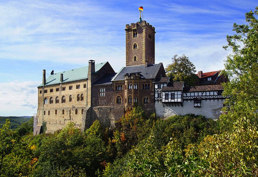Ferienhotel Rennsteigblick in Friedrichroda, Wartburg