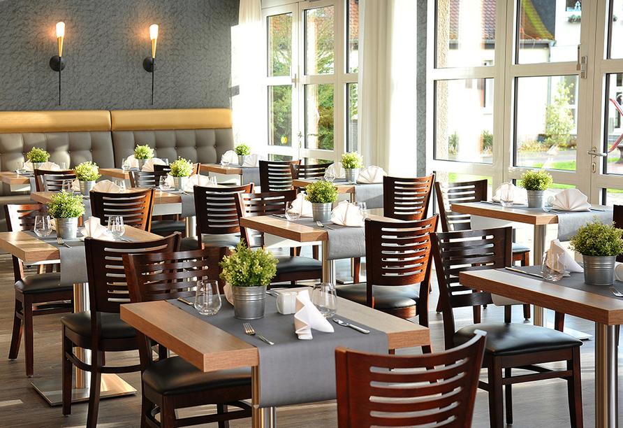 Hotel Acamed Resort Nienburg-Neugattersleben, Restaurant