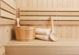 JUFA Wipptal, Sauna