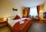 Hotel Auerhahn am Rennsteig in Masserberg, Beispiel Doppelzimmer