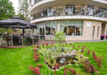 Hotel Grand Kapitan Medi Spa in Henkenhagen, Terrasse